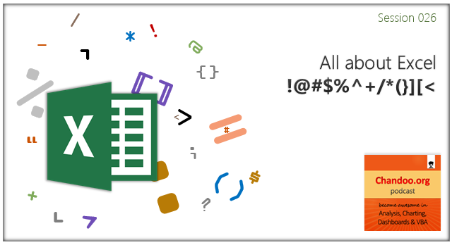 CP026: All about Excel !@#$%^+/*(}][<